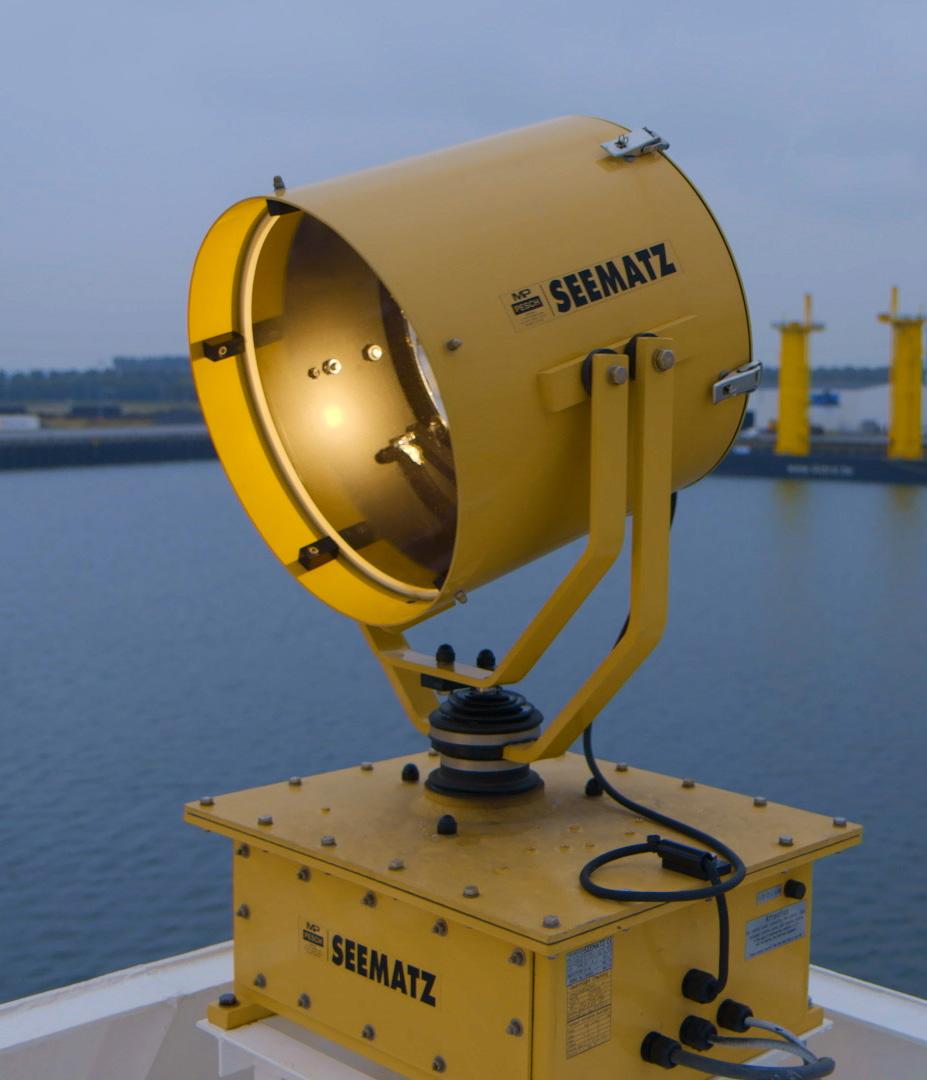 Seematz searchlight