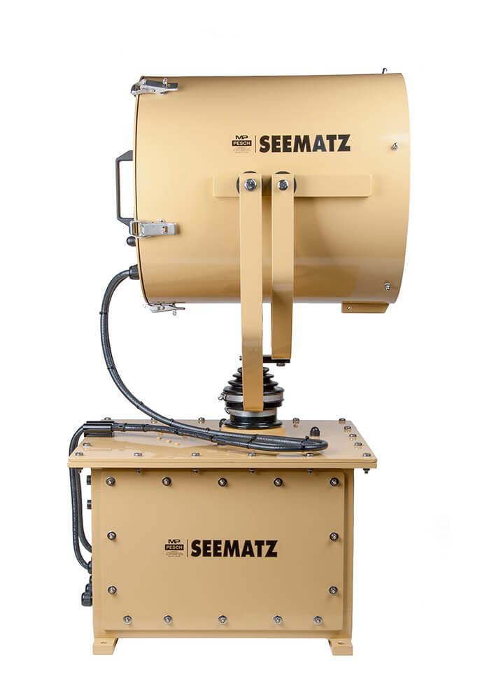 Seematz Xenon searchlight side