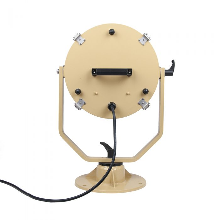 LED searchlight back
