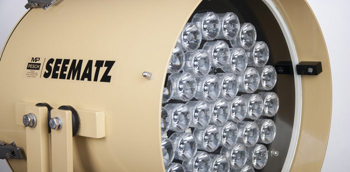 LED searchlight seematz
