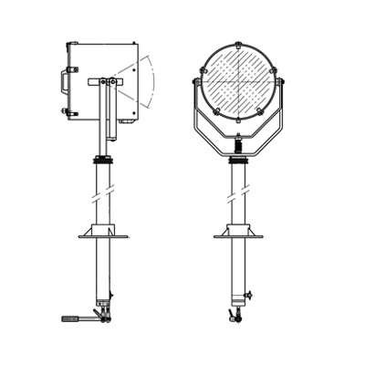 WH type searchlight